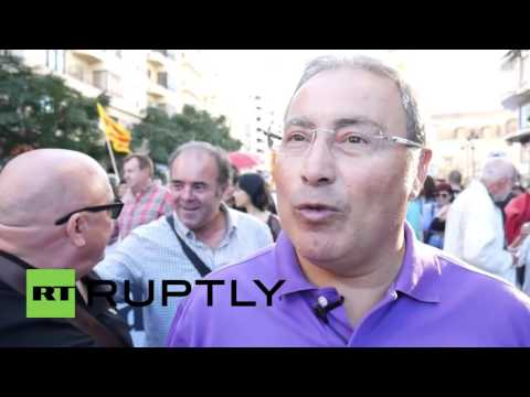 Spain: 1000 gather for pro-independence rally in Valencia