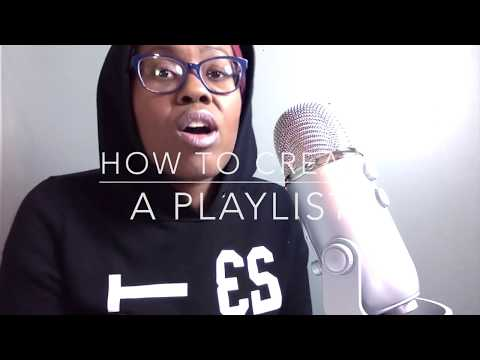 How to create a playlist in YouTube