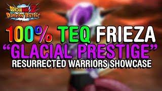 "Hitting Like An Alien Truck! 100% Teq ""glacial Prestige"" Frieza | Dbz"