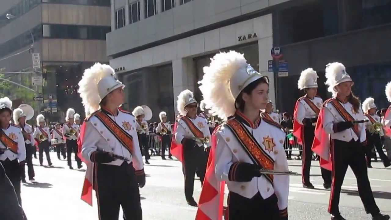 Columbus Day Parade In Nyc Clip 30 Glen Cove Hs Terryville Hs