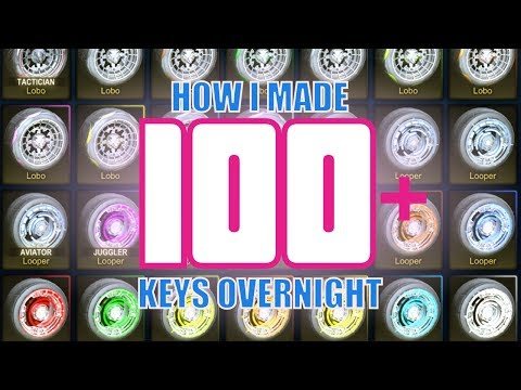 100+ Key Profit Overnight - CC1 - CC4 Crates Being Retired