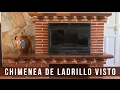 Paso a paso La Chimenea de ladrillos mas rápida - YouTube