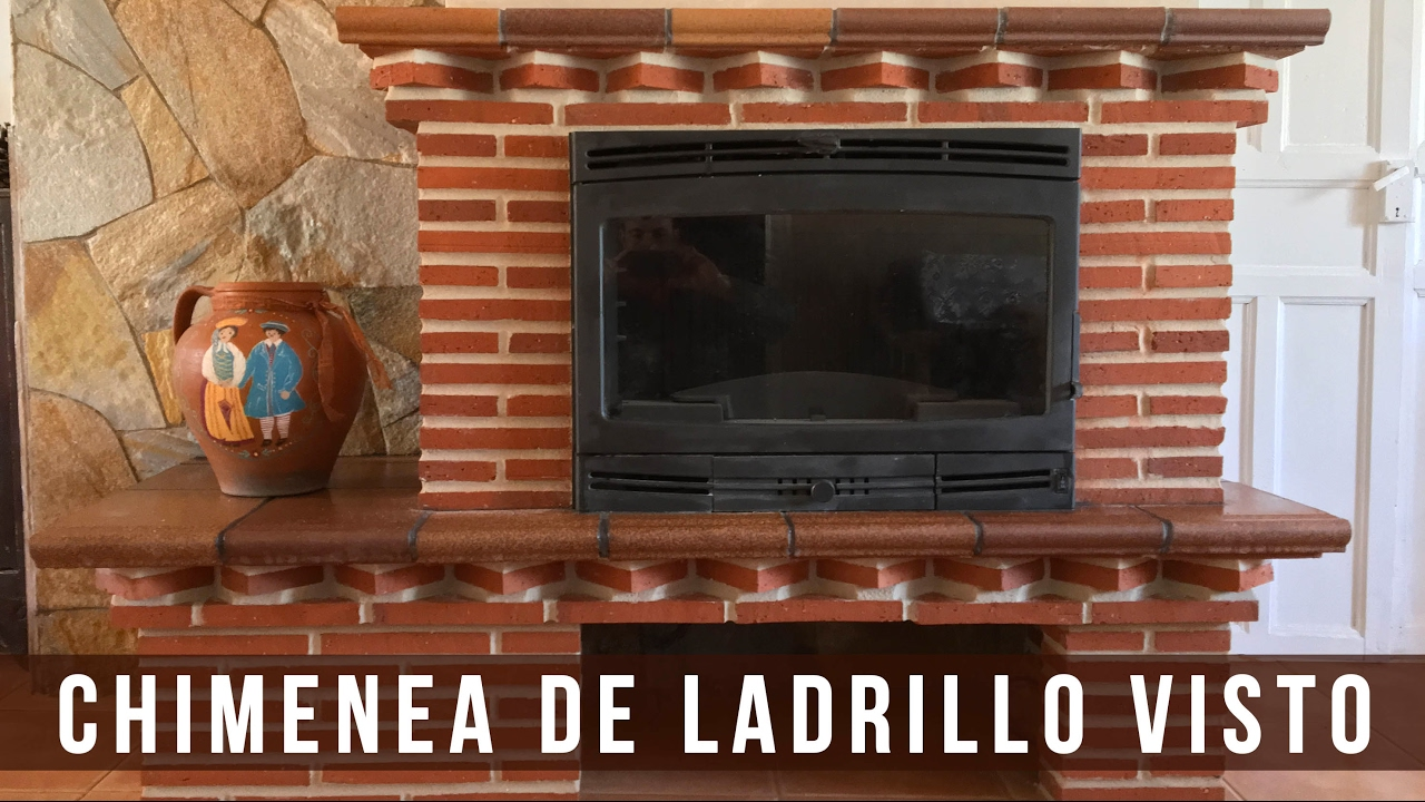 Chimenea de ladrillo visto cerni s l youtube - Ladrillo visto ...