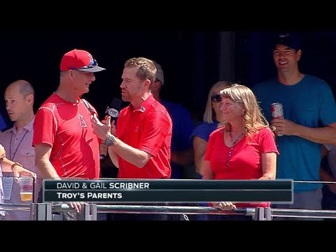 LAA@TOR: Scribner's parents talk about his MLB debut
