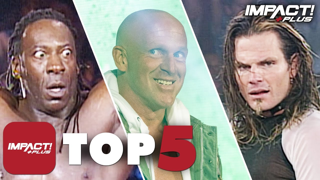 5 Most SHOCKING Mystery Opponents in IMPACT Wrestling History! | IMPACT Plus Top 5
