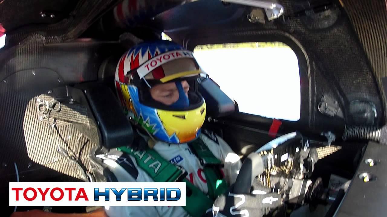 Toyota Ts030 Hybrid Rollout Lmp1 Race Car 2012 Onboard