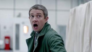 John Vs. The Hound - The Hounds of Baskerville - Sherlock - BBC