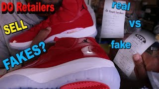 Air Jordan 11 Win Like 96 (REAL VS FAKE COMPARISON Review) What Are Fakes Now?