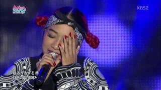 131026 Asia Song Festival 2013 Thelma Aoyama (featuring SHU-I, ZE:A, Block B)