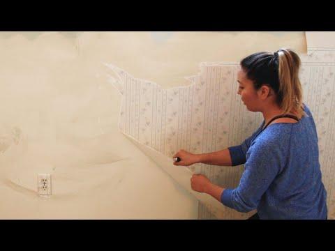 2-Ingredient Wallpaper Removal