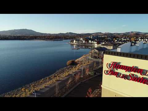 Aerial Video of Marriott Residence Inn & Hilton Hampton Inn, Sparks, Nevada
