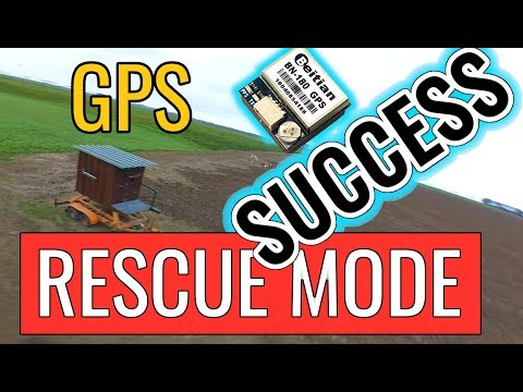 Betaflight 3.5.3 - GPS Rescue Mode - SUCCESS - Second Test - BN-180 GPS - FrSky R9M