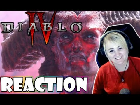 Diablo 4 Official Announcement Cinematic Trailer | Reaction