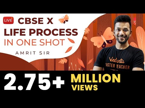 Life Process In One-Shot | CBSE Class 10 Science (Biology) Chapter 6 | NCERT Vedantu Class 9 And 10