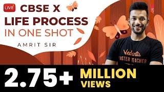 Life Process in One Shot | CBSE Class 10 Science (Biology) Chapter 6 | NCERT @Vedantu Class 9 & 10