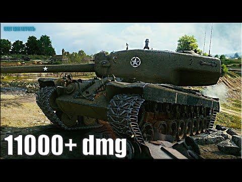 РЕКОРД ПО УРОНУ на Т30 ? 11000+ dmg ? World of Tanks лучший бой пт-сау 9 thumbnail