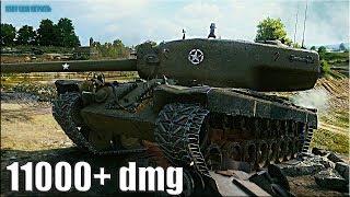 РЕКОРД ПО УРОНУ на Т30 🌟 11000+ dmg 🌟 World of Tanks лучший бой пт-сау 9
