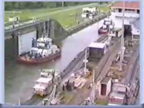 Passage Panama Canal met de ms Noordam (3)