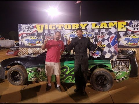 June 10 2017 Pure Stock Fayetteville Motor Speedway  Feature