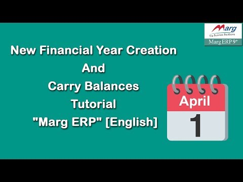 New Financial Year Creation in Marg ERP [English]