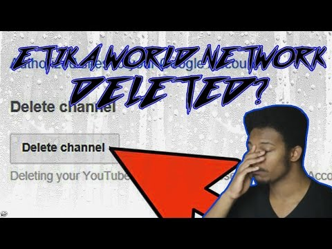 ETIKA DELETES HIS YOUTUBE CHANNEL ON STREAM?!?!