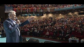 Başbakan Yıldırım, İstanbul İl Kadın Kolları Kongresi'nde konuştu