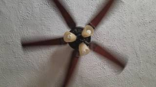 For babies, ceiling fan spinning.