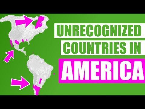Unrecognized Countries In America