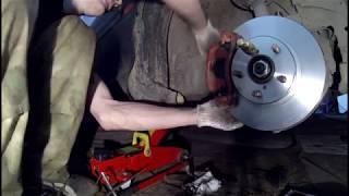 Замена тормозных дисков и колодок Subaru Legacy