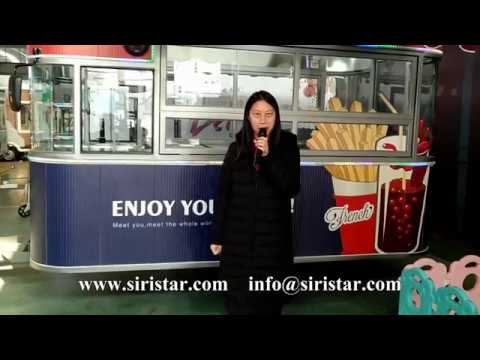 Siristar Vehicles--Mobile Food Trailer--China Manufacturer