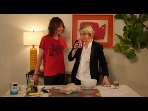 Cooking with Kate Moennig on This Just Out with Liz Feldman