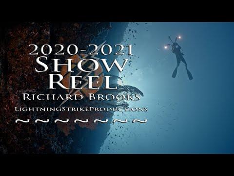 Underwater cameraman Richard Brooks. The best of Palau and Micronesia 2021