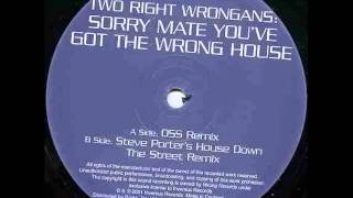 Two Right Wrongans ‎– Sorry Mate (Steve Porter