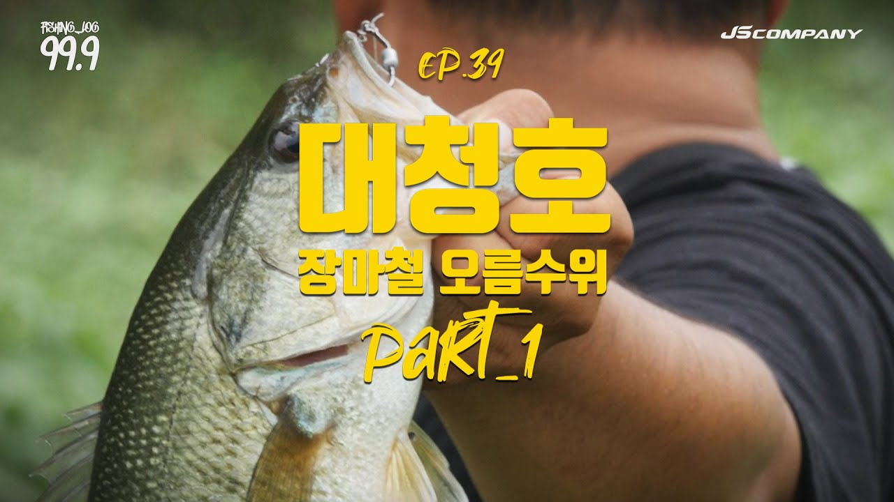 [박기현의 피싱로그99.9] #39 대청호 장마철 오름수위 배스낚시