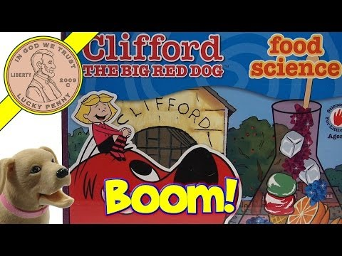 Butch Knows Clifford The Big Red Dog! Food Science Kit The Young Scientists Club