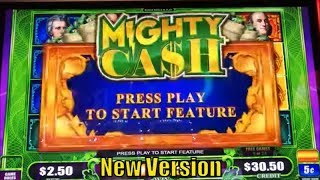★NEW VERSION☆50 FRIDAY 30☆Fun Real Slot Live Play★LORD OF THE RINGS/MIGHTY CASH Big Money Green Slot