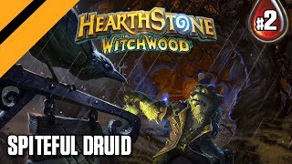 Hearthstone: The WitchWood - Spiteful Druid - P2