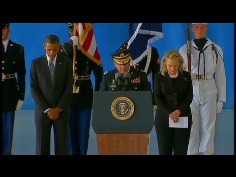 President Obama and Secretary Clinton Deliver Remarks at Andrews Air Force Base