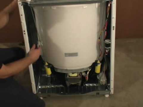whirlpool washer parts diagram lewis dot for of2 ge disassembly - youtube