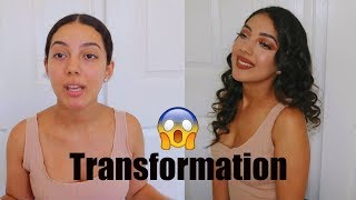 Get Ready With Me *ULTIMATE TRANSFORMATION* | Nariman♡