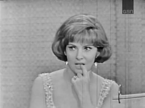 What's My Line?  Gina Lollobrigida; Steve Allen panel Jun 14, 1964