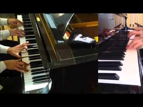 エヴァンゲリオン 戦闘 BGM ピアノ 楽譜posted by geraxzzhx