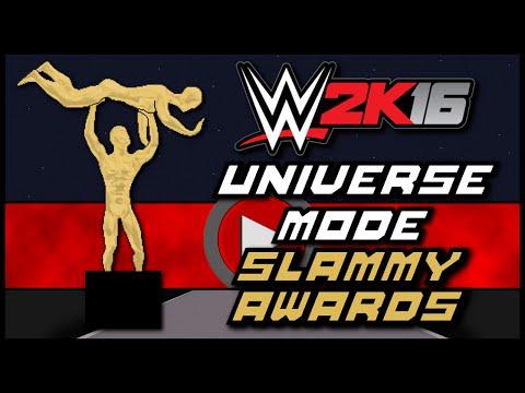 WWE 2K16 | Universe Mode - Slammy Award Nominees (Series 1)
