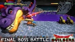 Dragon Quest Builders Final Boss Battle (PS4, PS3, Vita)