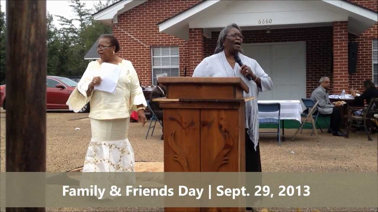 Reflections and Singing at Family & Friends Day Program ...