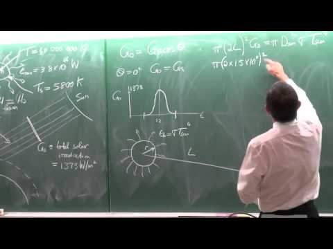 Lecture 43 (2014) Solar radiation 5 of 7