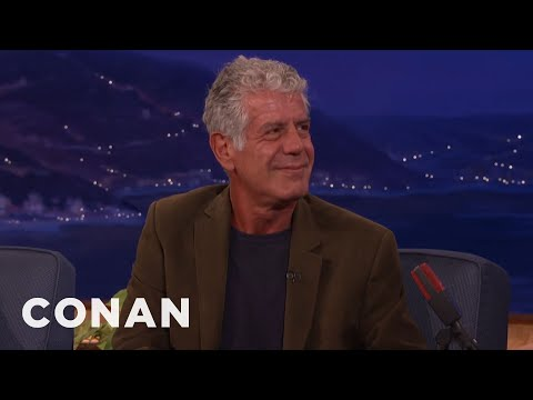 Anthony Bourdain: Don't Raise Your Kids To Be Foodies  - CONAN on TBS