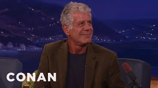 Anthony Bourdain: Don't Raise Your Kids To Be Foos  - CONAN on TBS
