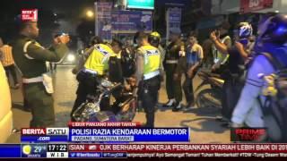 Polres Kota Padang Razia Kendaraan Bermotor | BeritaSatuTV