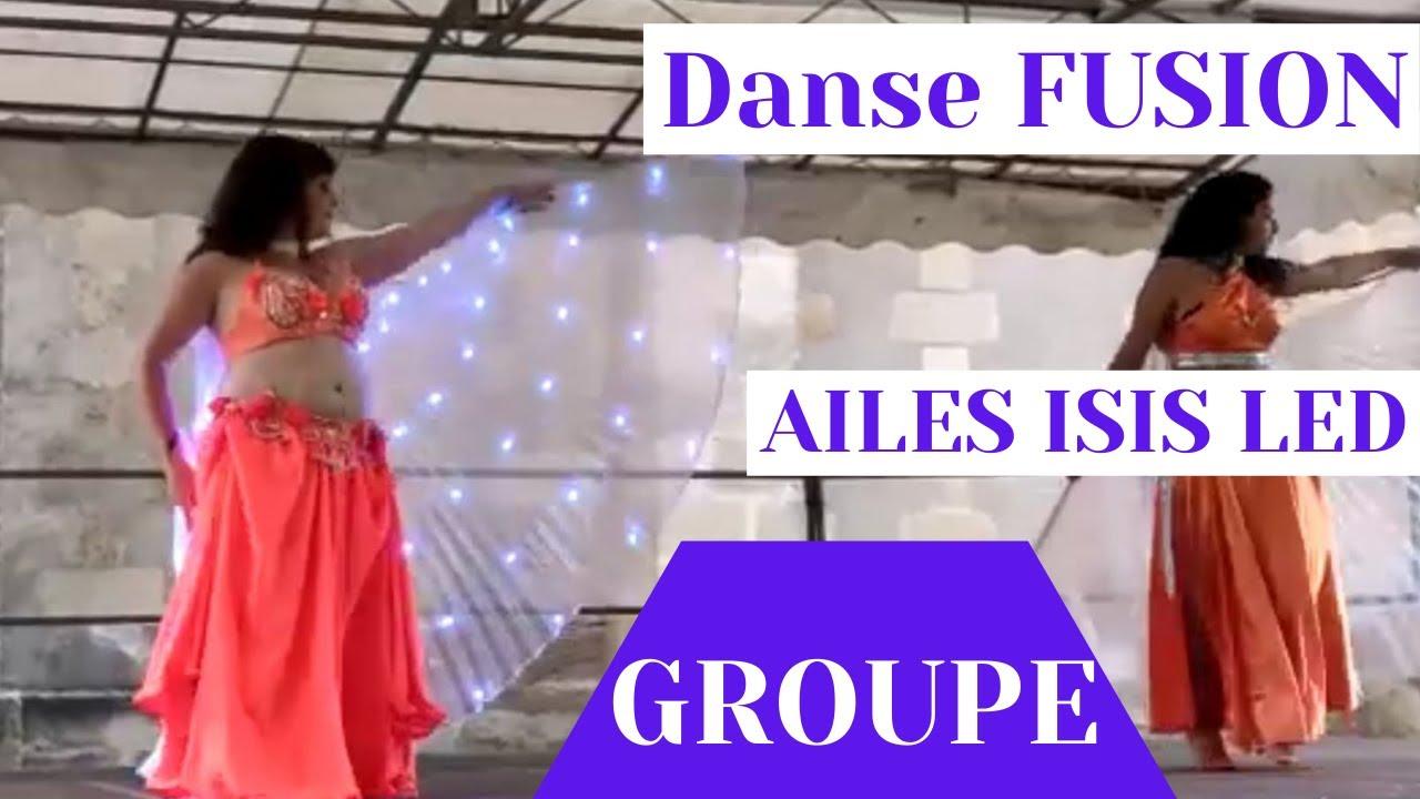 AILES ISIS LED - Duo Vanessa et Saya - Festival Temps Danse Marcheprime